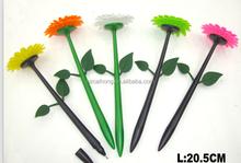 Plastic flowerpot ball pen,Flower shape ballpoint pen very beautiful CH-6110B