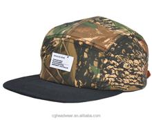 direct factory unisex fashion 5 panel hat/ snapback hat/ Golf Bump Cap