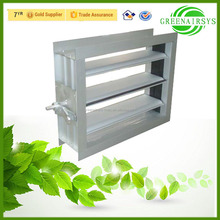 Aluminum Rotary Volume Control Damper for HVAC System from China Supplier