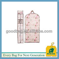 promotion suit cover bag with clear pvc window