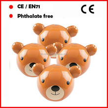 Cheap Beach ball toy,Animal shape beach ball,Teddy Bear Beach Balls