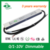 high PF low price 12v 100w led waterproof meanwell power supply 0-10V dimmable led driver