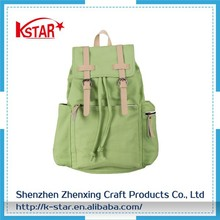 Women's and Men's canvas factory military travel rucksack bag