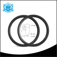 50Tubular 23mmWidth 16-36H wholesale rims for bikes