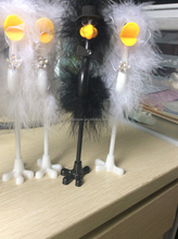 hot selling ostrich feather gift pen feather fluffy bird pen
