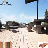 tongue and groove wood plastic composite decking flooring