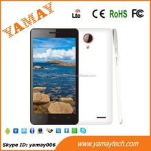 have good build quality 5 inch touch screen 4g lte smartphone with 2/8MP cameras