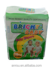 Free Sample A B &C Grade Sleepy Baby Diaper Made In China