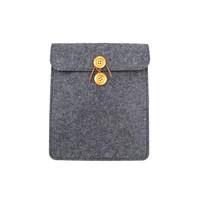 Wool felt 7 inch tablet case for wholesale