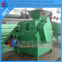 Four Rollers Twice Pressure Lignite Coal Briquetting Machine / Leonardite Briquetting Machine