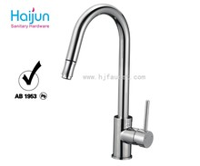 Deck mounted installation type and ceramic valve core material kitchen faucet
