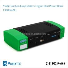 Portable Battery 12v 13600mah Power Bank Car Jump Starter Kit