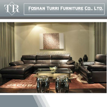 Leather Luxury and Modern L shape,Living Room Furniture Set