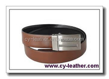 Wholesale custom high-grade fashion is simple and durable 100% genuine leather belts