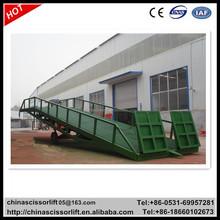 "34' x 74"" Steel Yard Ramp Mobile Loading Dock Ramp"