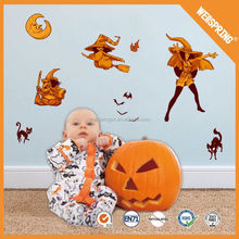 Worth wall sticker for kids room decoration Popular halloween decal