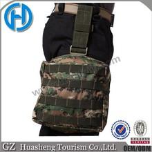 military pistol holster camping tactical waist legs bag