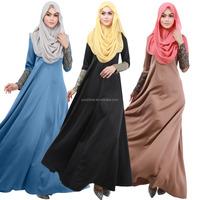 2015 Muslim abaya dress for women Islamic dresses dubai Islamic clothing muslim kaftan abaya dress turkish women casual clothing