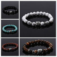 Hot Sale Buddha Head Buddha Beads Energy Lava Bracelets Many Colors Bracelet