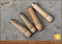 fancy wooden material wood handle for sale