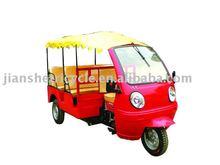 Popular passenger three wheel motorcycle for tourist