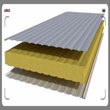 China roof sandwich panel installation