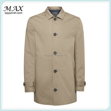 2015 Fashion Mens Fully Lined Trench Coats European Cotton Trench Coats Long Stone Trench Coats