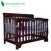 4 in 1 Non-toxic Convertible Wooden Baby Crib