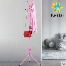 PN FUJIAN factory wholesale stainless steel portable clothing tree household hooks clothes hanger