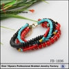 multilayer colorful bracelet by handmade/chians bracelet /bead bracelet