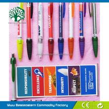 Advertising Extendable Pen, Anniversary Gift Pulls Pen, Cheap Ad Banner Pens