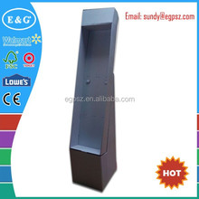 Hot sale print corrugated department store display racks/merchandise display racks