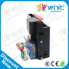OEM&ODM cpu electronic multi coin mechanism / coin validator / coin mech spare parts for coin operated dart boards