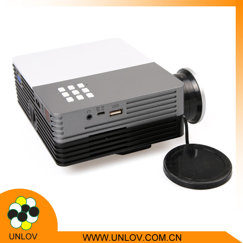 Outdoor video projector gm50 mini pico projector 150 for Mini outdoor projector