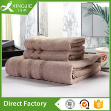 Luxury Bamboo Fiber Jacquard turkish bath Towel Set