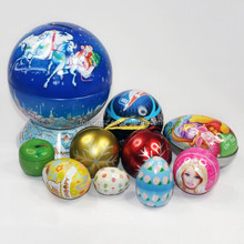 2015 creative promotional easter candy tin box