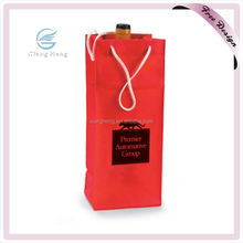 High Quality Non Woven Glass Bag ,Non Woven Single Wine Bottle Bag