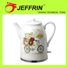 Quality most popular electric gift 1.2l ceramic kettle