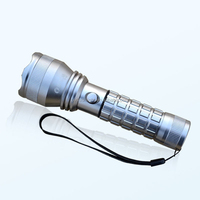 Rechargeable 26650,18650 Lithium Battery,AAA Dry Batteries Operated Aluminum Alloy LED Flashlight, T6 LED Tactical Torch