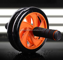 NEW AB Wheel, Perfect Fitness ABS Abdominal Roller, Dual Wheels Workout Exerciser Fitness Gym Roller Exercise