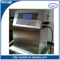 expiring date coding machine for food packaging, industry with LCD display