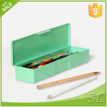 wholesale colourful plastic pencil case with china suppier