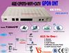 EXW Price !! Internet+Telephone+ CATV+WIFI gpon ont device with RF