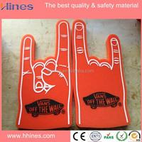 custom foam finger wholesale / giant foam hand / cheer foam hand