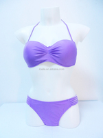 wholesale China purple hot girl sexy bikini swimwear china bikini girl photos