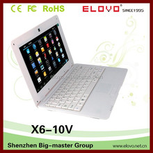 """clearance-price 10"""" Adroid netbook computer wifi ehternet 10""""Android notebook webcam 1gb/4gb storage 10""""Android netbook computer"""