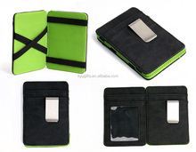 Leather Magic Wallet Business Card Case