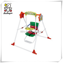 Personalized Colorful Plastic Kids Play Outdoor Swing Chair, Interesting Safety Baby Swing with Music