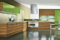 Wood grian kitchen unit