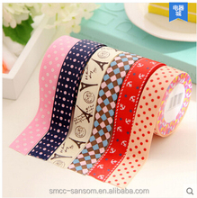 ECO Friendly material fashion decoration tape for house use masking tape adhesive tape